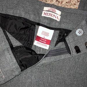 Capri dress pants